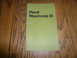 1974 Ford Mustang II Owner's Manual Vintage - Glove Box - $8.60