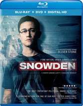 Snowden [2016, Blu-ray + DVD + Digital HD]