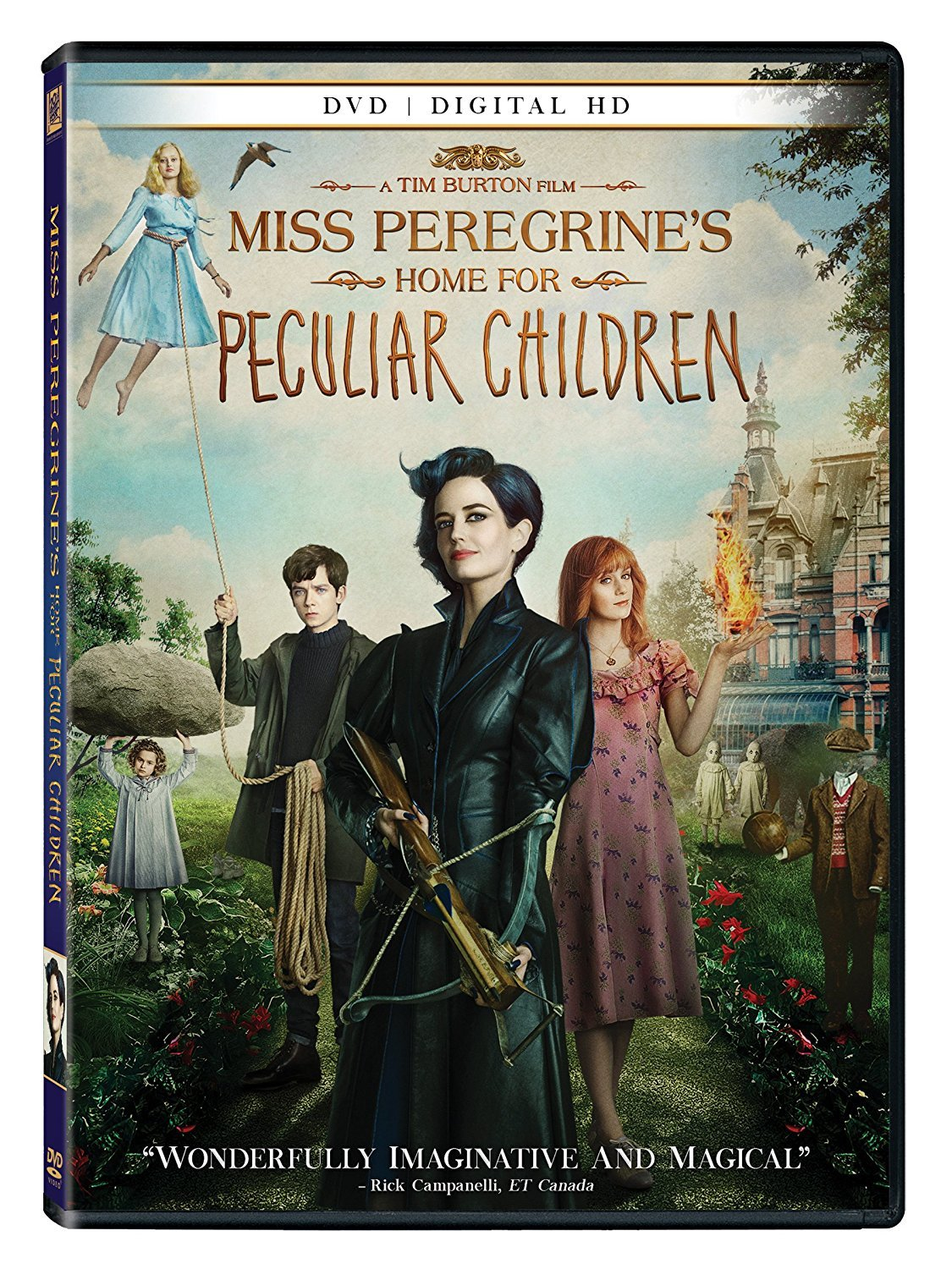 Miss Peregrine's Home for Peculiar Children [2016, DVD + Digital HD]