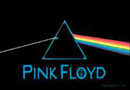 NEW PINK FLOYD DARK SIDE OF THE MOON FABRIC POSTER PRISM - $14.84