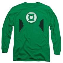 Official DC Comics Green Lantern New 52 Logo Costume Uniform Outfit L/S T-shirt - $26.99+