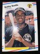 1988 Fleer #323 Bobby Bonilla Pittsburgh Pirates - $1.90