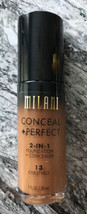 Milani 2-in-1 Conceal + Perfect Foundation + Concealor (13) Chestnut 1 o... - $6.50