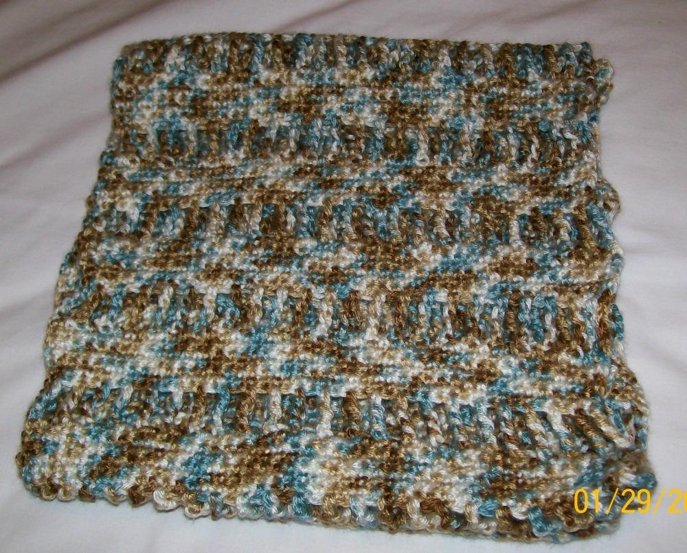 handmade crochet cowl scarf fashion scarf accessories