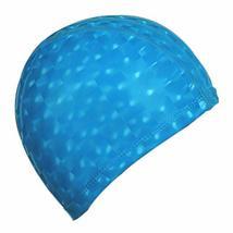 PANDA SUPERSTORE 2 Pack Solid Color Swim Caps for Adult Men Women Waterproof Swi