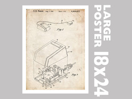 """Computer Mouse Invention Poster 18x24"""" Apple 1984 Patent Art (Free Shipp... - $24.99"""