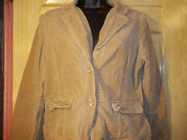 Vintage Arizona X-Large Corduroy Jacket Blazer Tan Beige Stretch Size 18 - $31.68