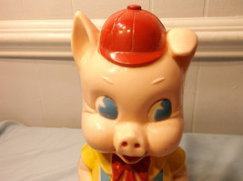 intage Porky Pig Bank Pig Cartoon Collectible Ideal  I-2317 - $39.60