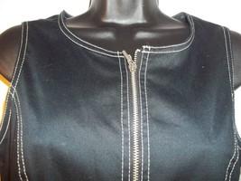 Vintage Express Mod Black and White Tunic Dress Size 8 Mini Dress Sleeve... - $49.49