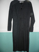 Liz Claiborne Dresses Size 8   Gray Knit  Tunic Work - $55.39