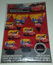 Cars Decorating Kit  Birthday Party Supplies Centerpiece Disney McQueen - $7.23