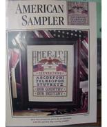 "Cross Stitch Pattern Page ""American Sampler"" 16""x 18"" by Jane Chandler - $3.99"