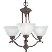 Cobblestone Finish Avalon Collection Cobblestone 3 light Chandelier P406... - $167.31