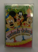 NEW Walt Disney Birthday Songs 1997 Sealed Cassette Party Game Fun Play ... - $9.46