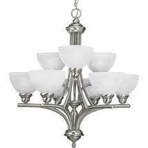 Glendale Collection Brushed Nickel Hanging Chandelier Light Kitchen P408... - €237,84 EUR