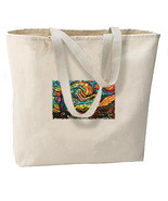 Starry Night New Large Canvas Tote Bag Gifts Tr... - $19.99