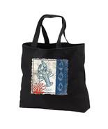 Blue Lobster New Black Tote Bag Shop Gifts Even... - $17.99