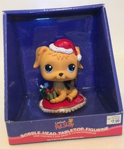 Hasbro 2006 Littlest Pet Shop Bobble Head Tabletop Figurine Christmas Dog    19B - $29.69