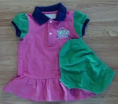 NWOT Girl's Size 2T Two Piece Pink ESPN Princess Crown Embroidered Dress... - $20.00