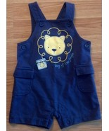 "Boy's Size 3-6 M Month 1 Pc Small Wonders Blue ""King Of The Jungle"" Lion... - $8.00"