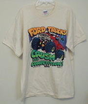 Mens NWOT Gildan Ivory Ford Truck Short Sleeve T Shirt Size Medium - $8.95