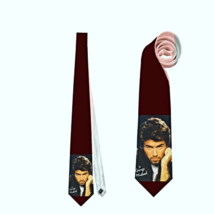 GEORGE MICHAEL ENGLISH SINGER NECKTIE HIGHEST QUALITY NECKTIE NEW FASHION - $21.00