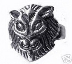 LOOK Sekhmet Goddess Lioness Sun Egypt Sterling Silver ring - $42.10