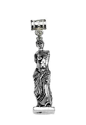 Primary image for LOOK Venus de Milo Sterling silver 925 nude lady statue charm European bead jewe