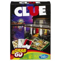 Clue Grab and Go Game - $5.99