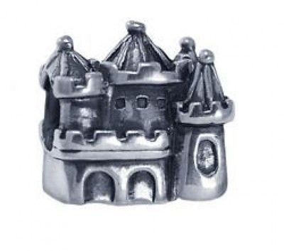 Primary image for LOOK Kings Queen Castle Charm bead jewelry sterling silver