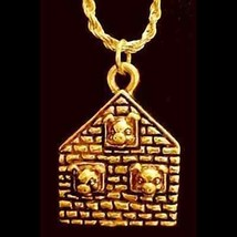 LOOK New Three Little Pigs Pendant Charm pig Gold Plated - $309,73 MXN