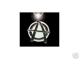 LOOK Silver Anarchy Gothic Chaos Pendant Charm Jewelry - $41.09