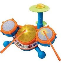 NEW VTech KidiBeats Drum Set for Kids Boys Girl... - $28.11