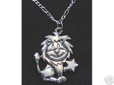 Primary image for LOOK Leo Silver STAR Pendant Zodiac Charm Celtic Jewelry