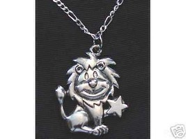 LOOK Leo Silver STAR Pendant Zodiac Charm Celtic Jewelry - $22.68
