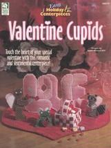 Valentine Cupids, Holiday Decor Plastic Canvas Pattern Booklet HWB 186019 - $5.95