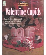 Valentine Cupids, Holiday Decor Plastic Canvas Pattern Booklet HWB 186019 - $5.95