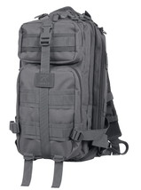 Gun Metal Grey Gray Medium Transport Tactical Military MOLLE Scout Pack ... - $48.50