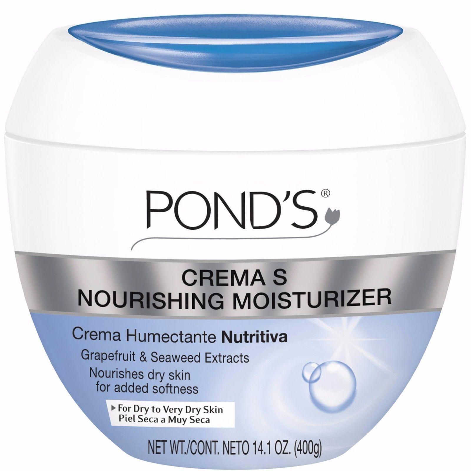 Pond 39 s crema s nourishing moisturizing cream 14 1 oz for Ponds products