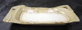 Elegant RS Germany Old Ivory Reticulated Porcelain Tray - $28.49