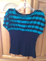 women's striped top size medium beautiful condition by Heart to heart - $19.99