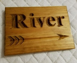Personalized Family Name Sign Arrow Woodland Tr... - $19.80