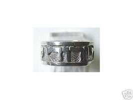 COOL 0548 Sterling Silver Chai ring JEWISH Jewelry Judaism - $29.88