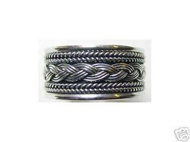 Cool 0826 Sterling Silver Celtic Infinity Knot Ring Weave - $25.99