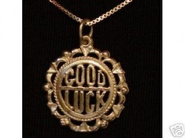 COOL 1652 Good Luck Pendant Lucky Charm Gold Plated - $25.99