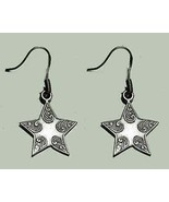 COOL 925 Sterling Silver Wish Shooting Star Earrings Jewelry - $31.65