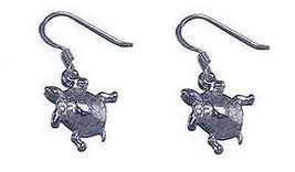 COOL Adorable Sea Turtle earrings jewelry Sterling silver - $29.68