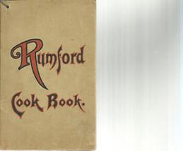 1922 Rumford Cook Book (Baking Powder) booklet - $11.00
