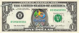 RIO Olympics 2016 on a REAL Dollar Bill Cash Money Collectible Memorabil... - $7.77