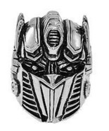 COOL Optimus Prime Transformers Sterling silver autobot Ring - $89.03